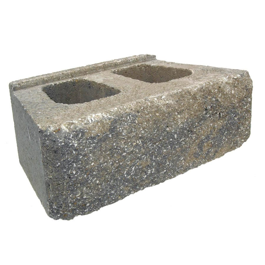 Cumberland Blend Retaining Wall Block (Common: 6-in x 16-in; Actual: 6-in x 16-in)