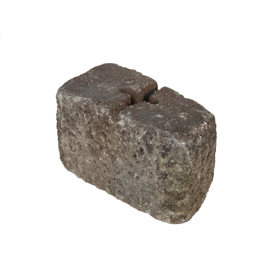 Federal Hill Blend Retaining Wall Block (Common: 6-in x 6-in; Actual: 6-in x 6-in)