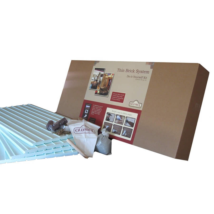 Old Mill Thin Brick Systems Old Mill Brick Veneer Installation Kit