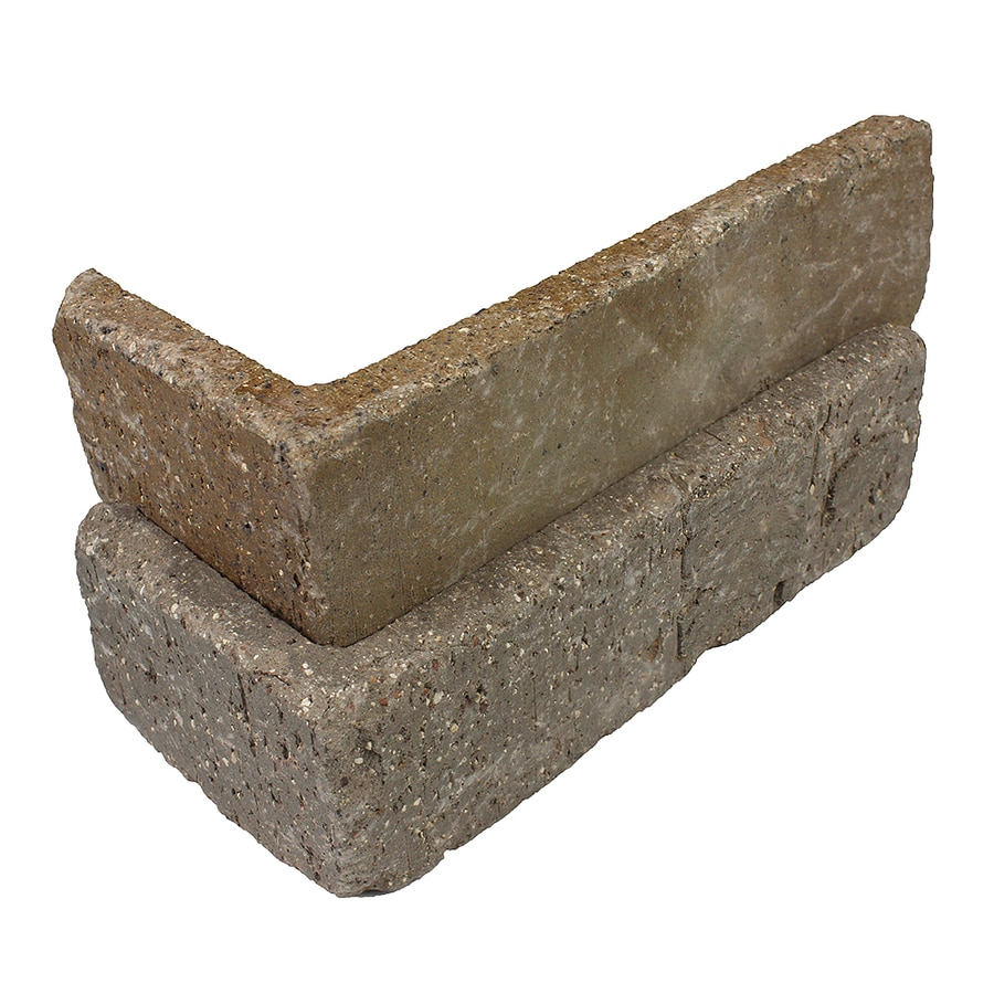 Old Mill Thin Brick Systems Colonial 25-Pack 2.25-in x 7.625-in Promontory Outside Corner Brick Veneer Trim