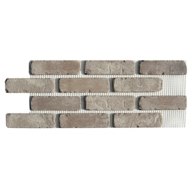 Old Mill Thin Brick Systems Brickweb Little Cottonwood 10 5 In X 28 In Panel Brick Veneer In The Brick Veneer Department At Lowes Com