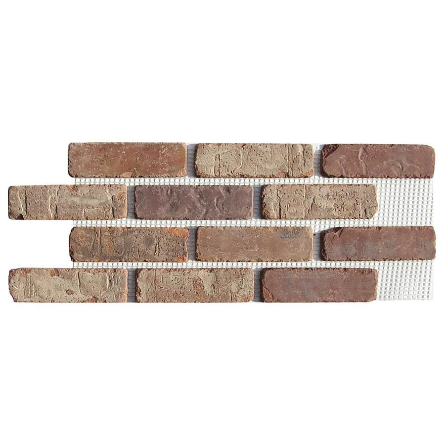 shop old mill thin brick systems 10.5-in x 28-in castle gate panel