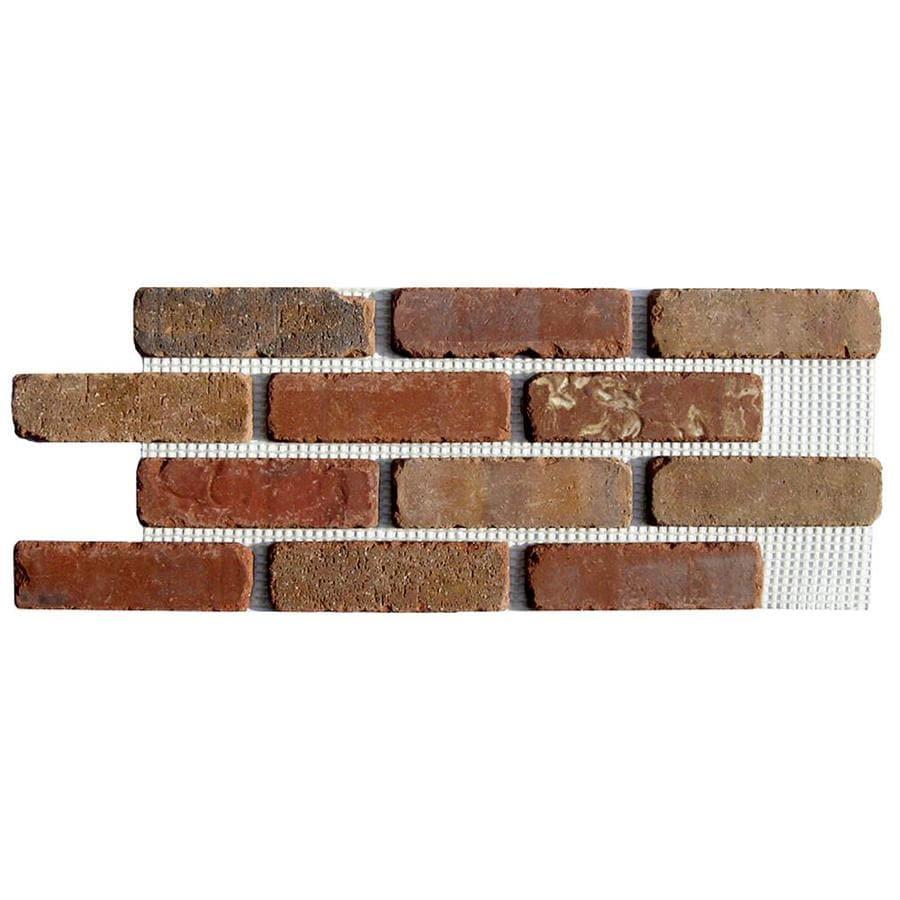 Old Mill Thin Brick Systems Brickweb 10.5-in x 28-in Columbia Street Panel Brick Veneer