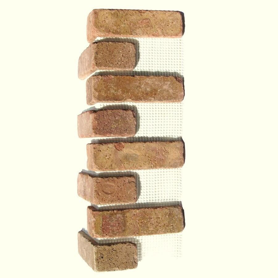 Brickweb Brickweb 3-Pack 7.625-in x 21-in Chattanooga Corner Sheet Brick Veneer Trim