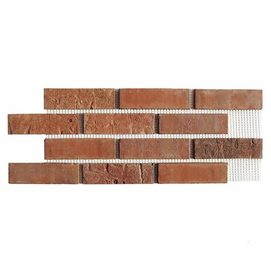 Old Mill Thin Brick Systems Brickweb 10.5-in x 28-in Cordova Panel Brick Veneer