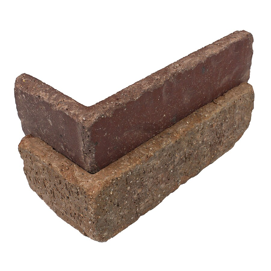 Old Mill Thin Brick Systems Colonial 25-Pack 2.25-in x 7.625-in Columbia Street Outside Corner Brick Veneer Trim