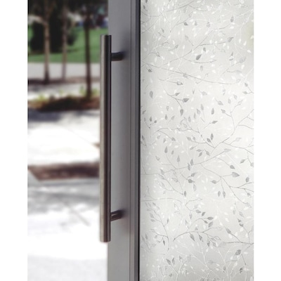 Decorative Window Film Lowes.Canopy 24 In W X 36 In L Frosted Texture Frosted Privacy Decorative Window Film