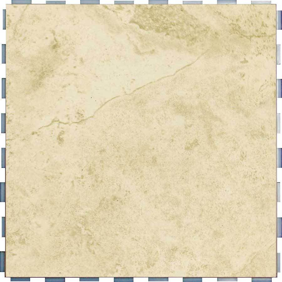 Shop snapstone interlocking 5 pack beige porcelain floor tile common 12 in x 12 in actual 12 Tile ceramic flooring