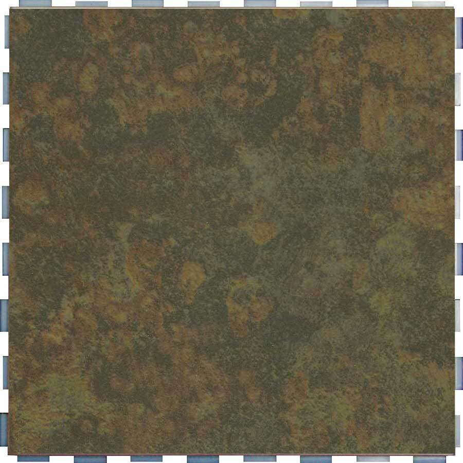 SnapStone Interlocking 5-Pack Moss Porcelain Floor Tile (Common: 12-in x 12-in; Actual: 12-in x 12-in)