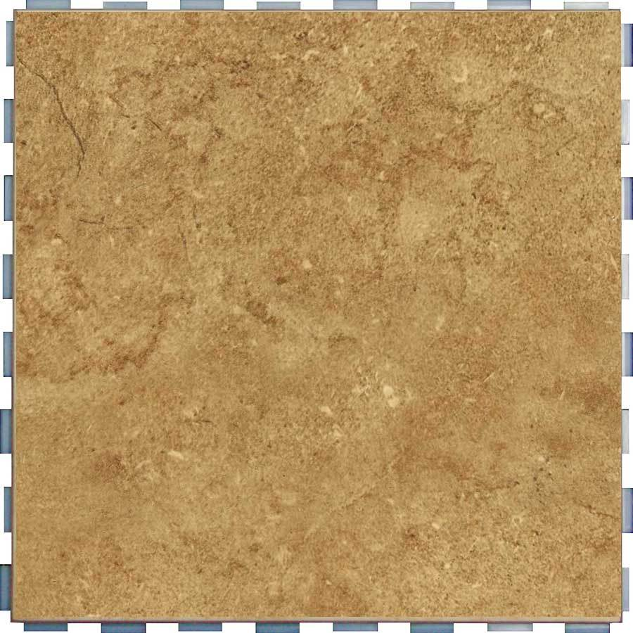 Snapstone Interlocking 5 Pack Mocha Porcelain Floor Tile Common 12 In X