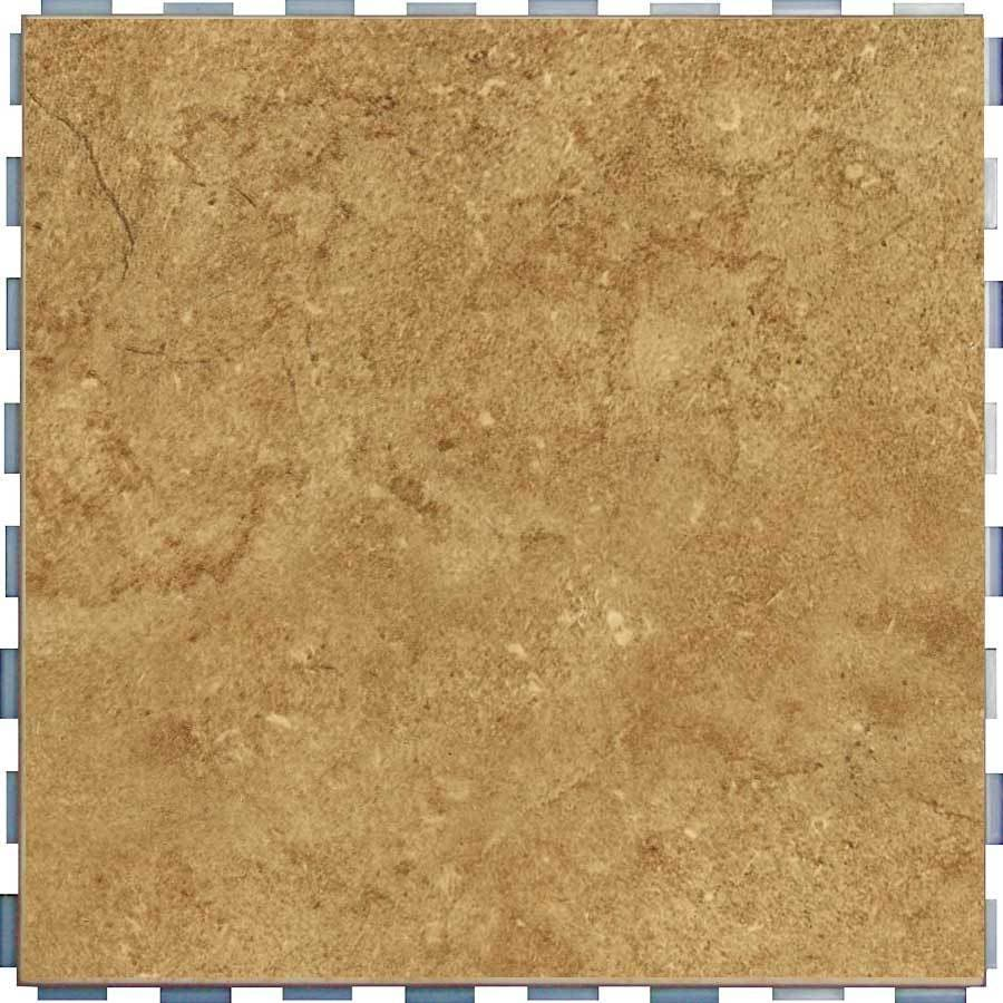 Shop Snapstone Interlocking 5 Pack Mocha Porcelain Floor Tile