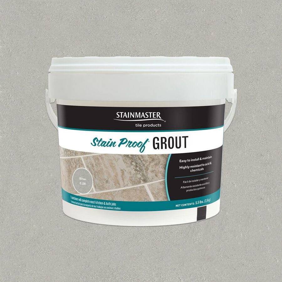 STAINMASTER Classic Collection Silver 5.5 Pound(S) Silver Unsanded Epoxy Grout