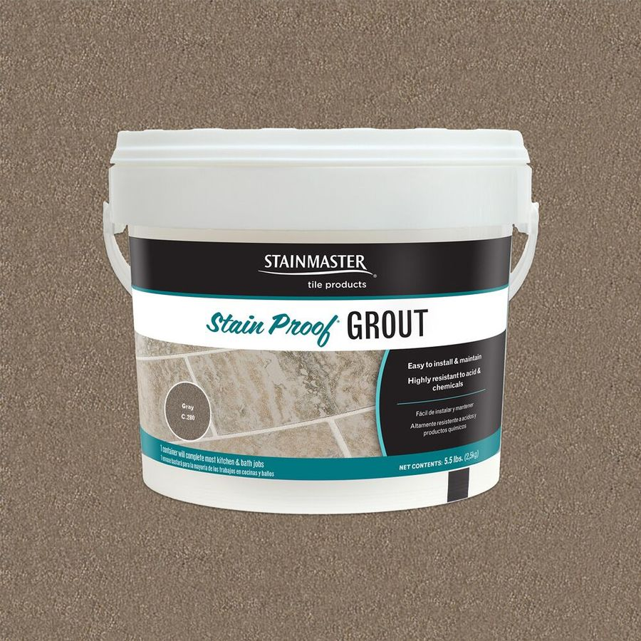 STAINMASTER Classic Collection Gray 5.5 Pound(S) Gray Unsanded Epoxy Grout