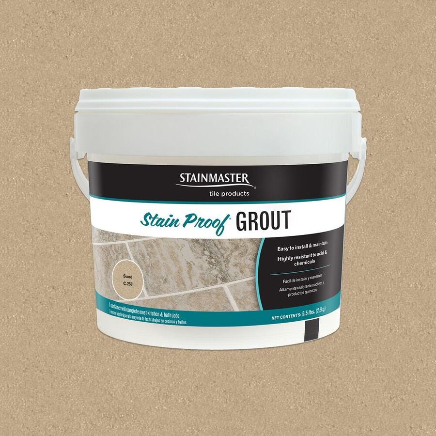 STAINMASTER Classic Collection Sand 5.5 Pound(S) Sand Unsanded Epoxy Grout