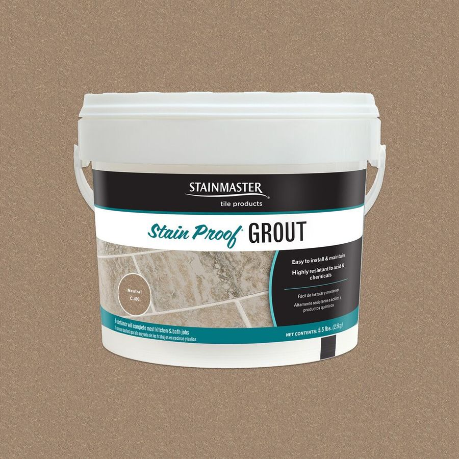 STAINMASTER Classic Collection Neutral 5.5-lb Neutral Epoxy Grout