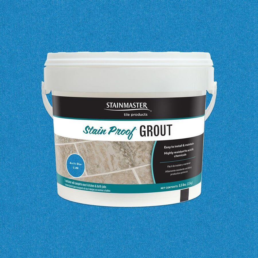 STAINMASTER 5.5-lb Artic Blue Epoxy Grout