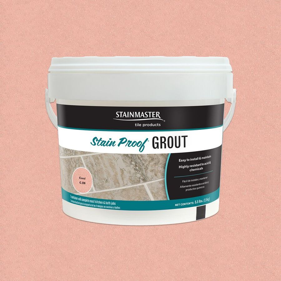 STAINMASTER 5.5-lb Coral Epoxy Grout