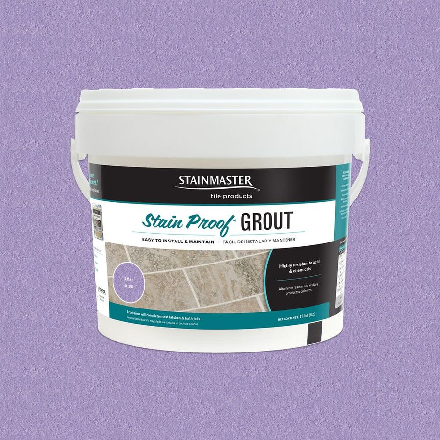 STAINMASTER Lilac Epoxy Grout