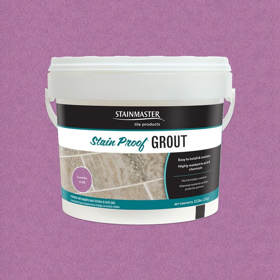 STAINMASTER Lavender Epoxy Grout