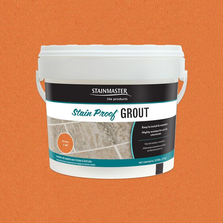 STAINMASTER 5.5-lb Orange Epoxy Grout