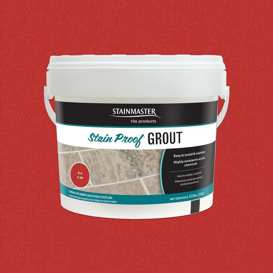 STAINMASTER 5.5-lb Red Epoxy Grout