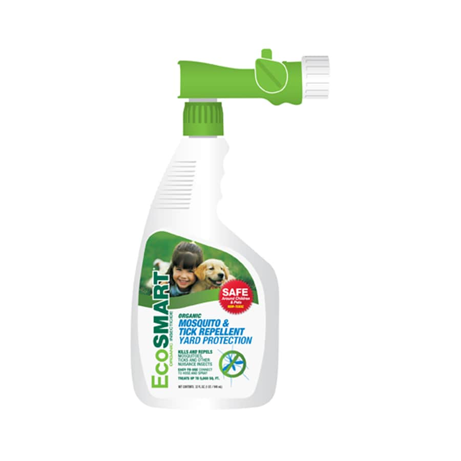 EcoSMART Mosquito and Tick Yard Protection Organic Insect Repellent