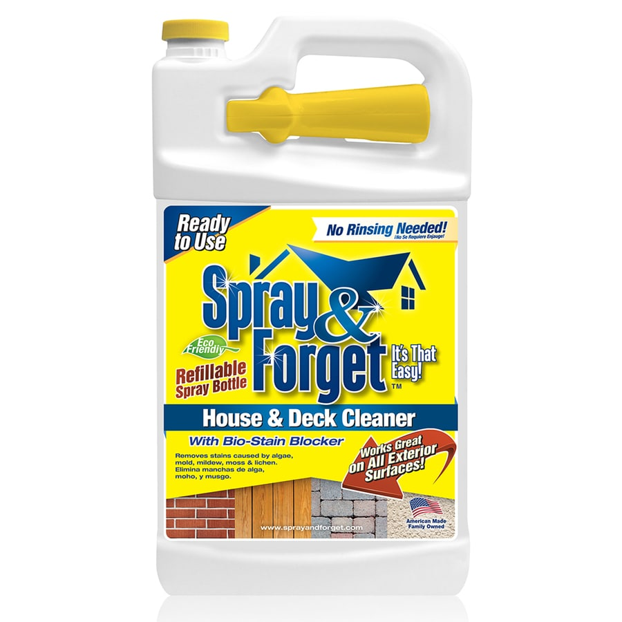 Spray & Forget House & Deck Cleaner 64-oz