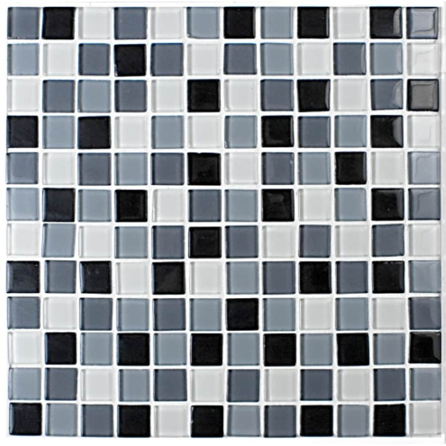 12-in x 12-in Gray Floor Tile
