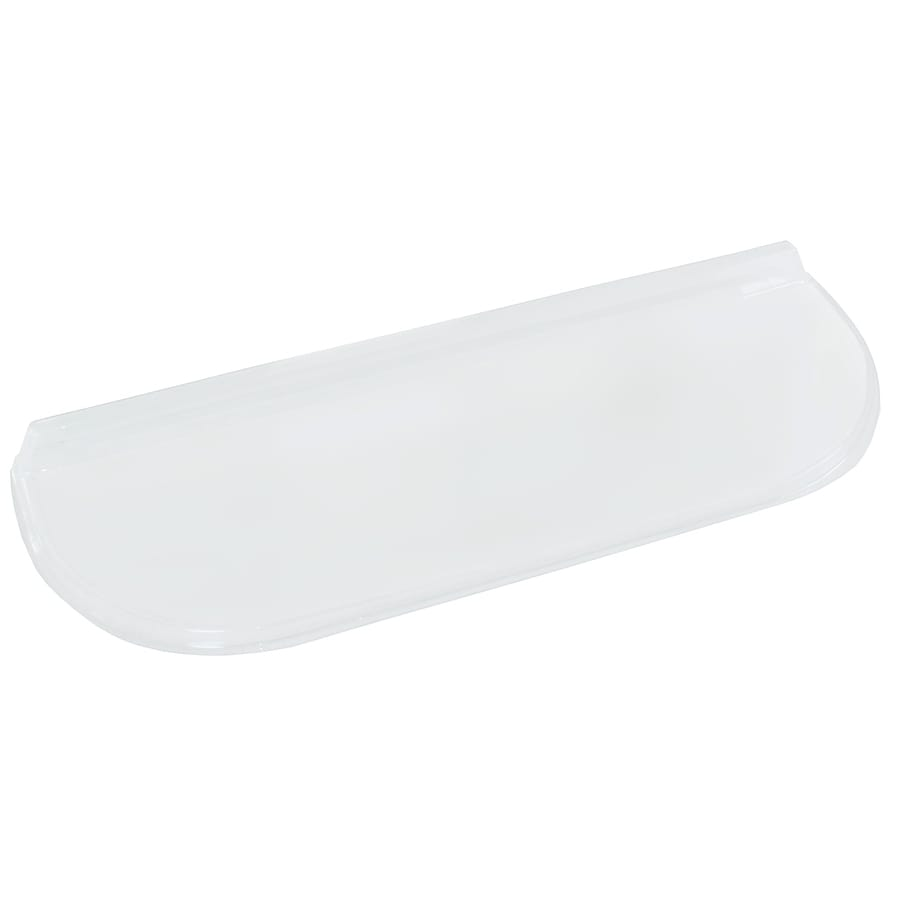 Shape Products Shape Products 40-in x 13-in x 2-1/2-in Polycarbonate Elongated Window Well Covers