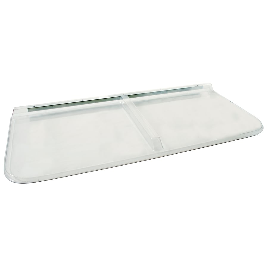 Shape Products 56-1/2-in x 26-in x 2-in Plastic Rectangular Fire Egress Window Well Covers