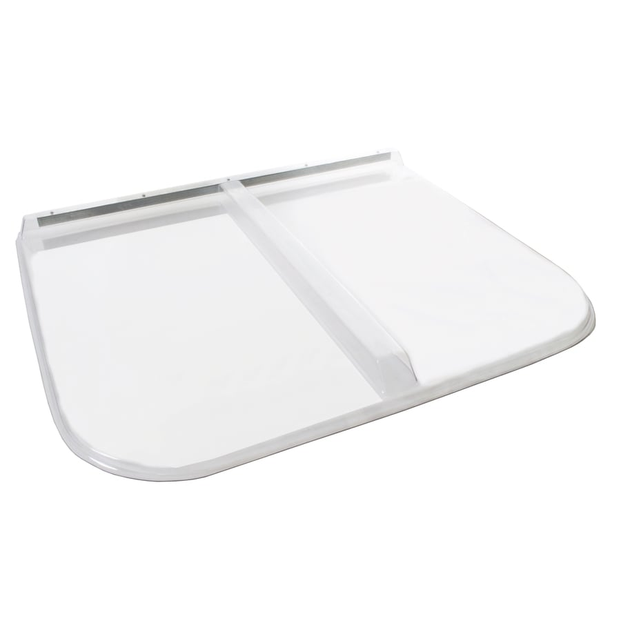 Shape Products 44-in x 38-3/4-in x 2-in Plastic Rectangular Fire Egress Window Well Covers