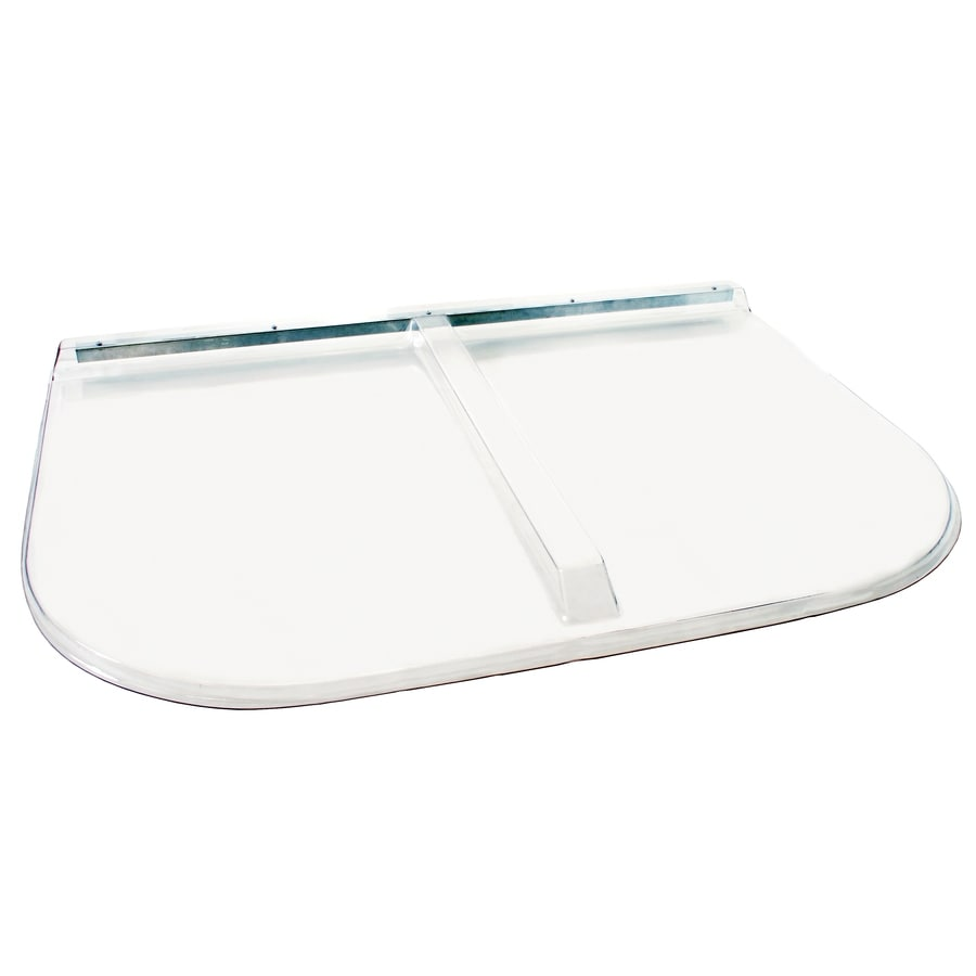Shape Products 52-1/4-in x 38-in x 2-in Plastic U-Shaped Fire Egress Window Well Covers
