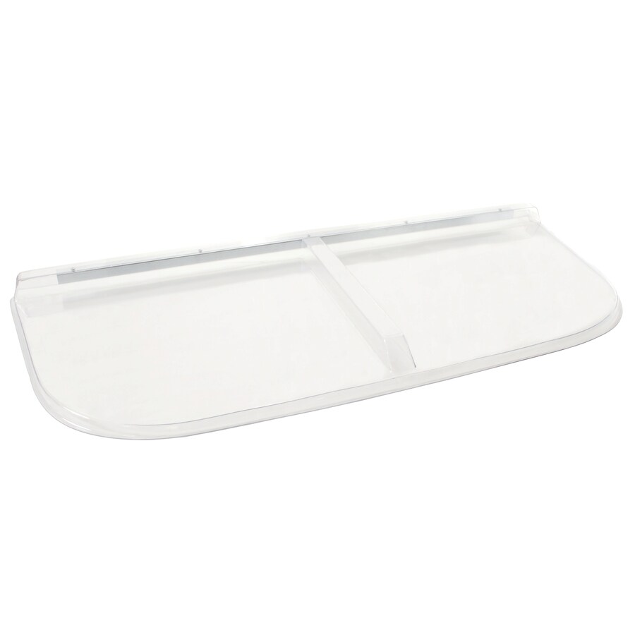 Shape Products 56-1/2-in x 25-in x 2-in Plastic U-Shaped Fire Egress Window Well Covers