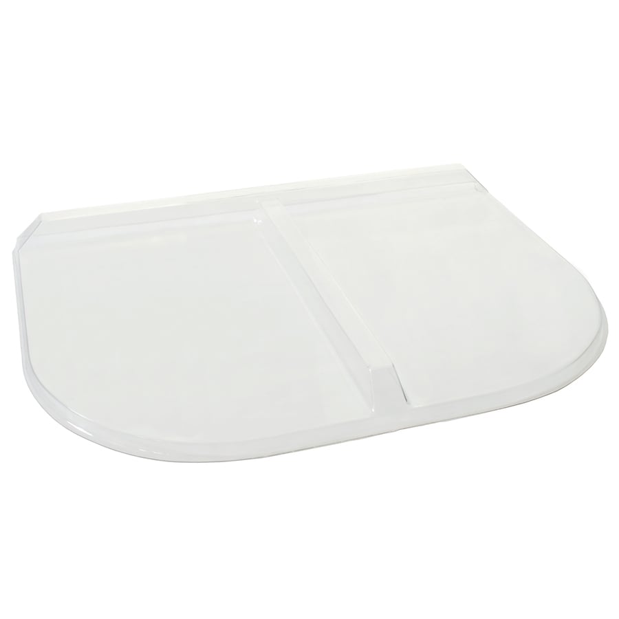 Shape Products 35-in x 25-1/2-in x 2-in Plastic U-Shaped Fire Egress Window Well Covers