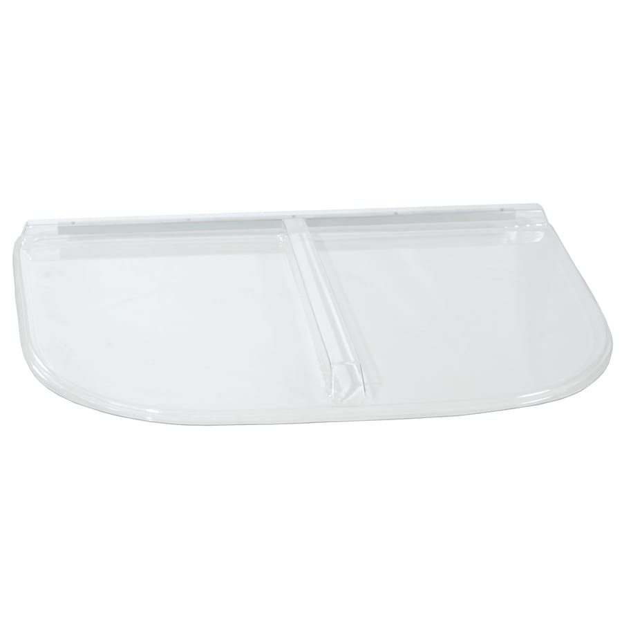 Shape Products Polycarbonate Heavy Arched U-Shaped Window Well Covers