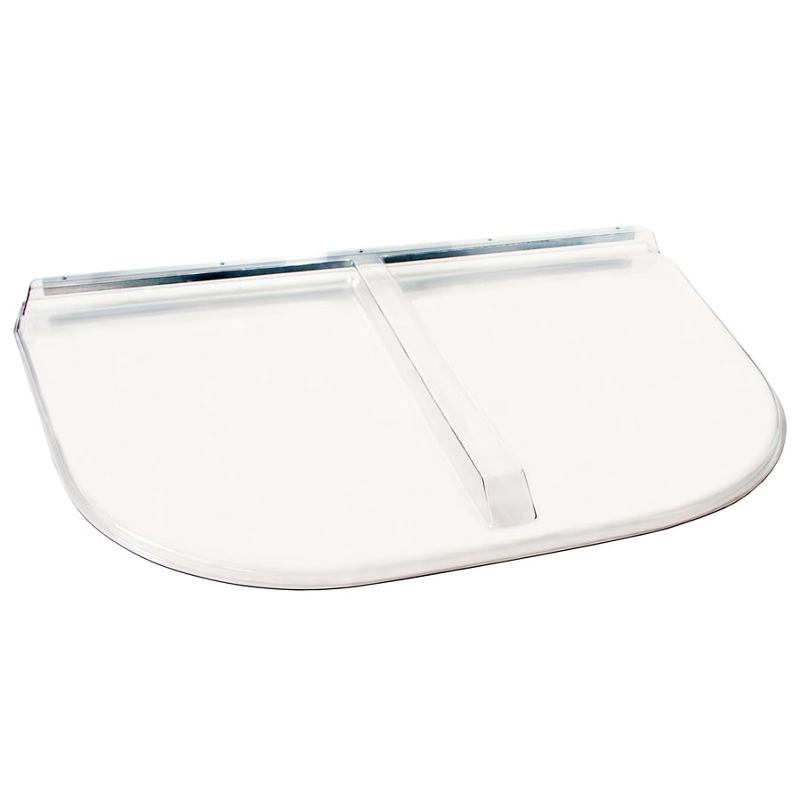 Shape Products Shape Products 53-in x 38-in x 2-1/2-in Polycarbonate Heavy Arched U-Shaped Fire Egress Window Well Covers
