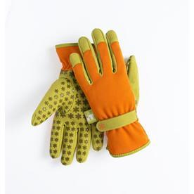 Exceptionnel Dig It Handwear Womenu0027s Medium Orange/Green Polyester Garden Gloves