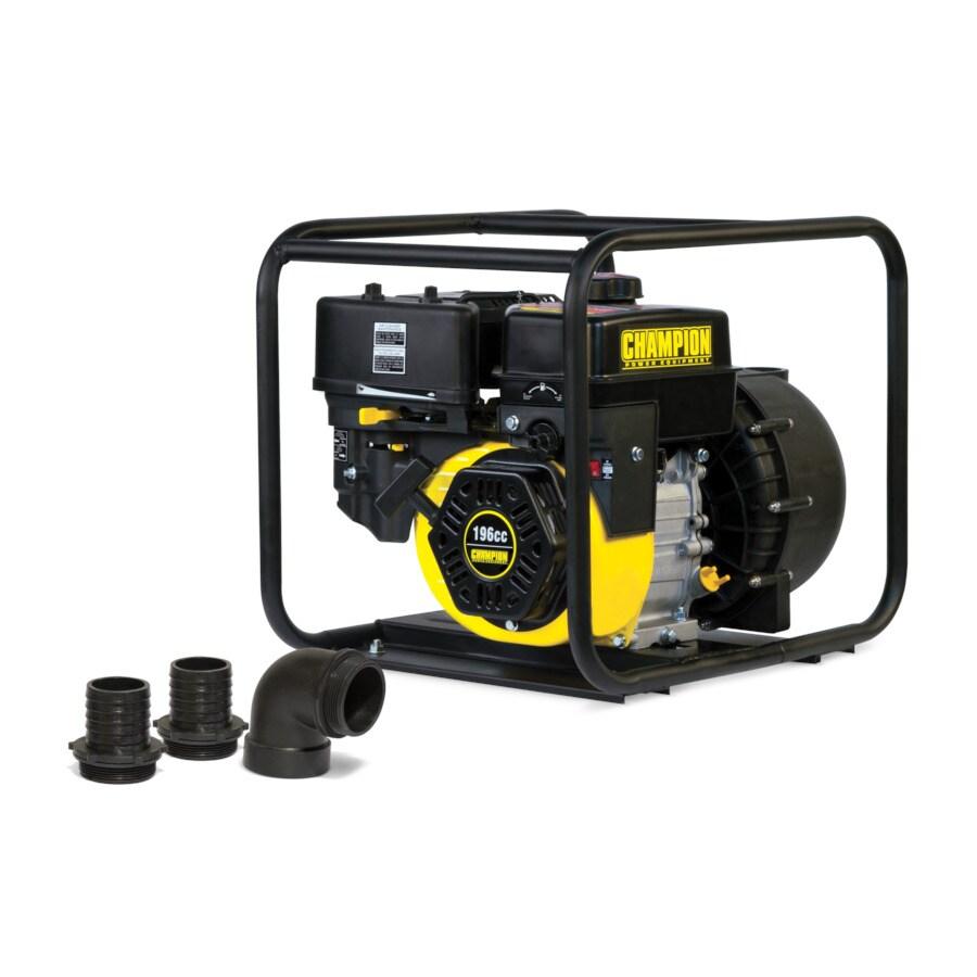 Champion Power Equipment 6.5-HP Cast Iron Transfer Pump