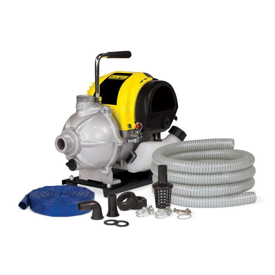 Shop Champion Power Equipment 1 5 Hp Cast Iron Transfer Pump At