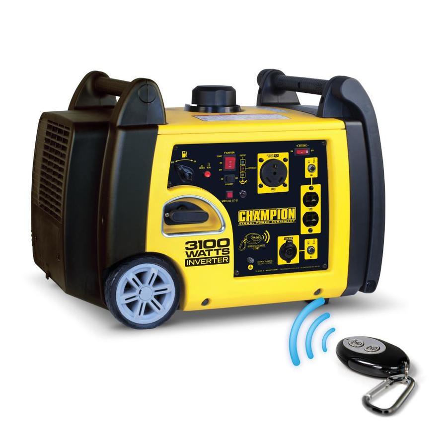 Champion Power Equipment 2800-Running-Watt Inverter Portable Generator with Champion Engine