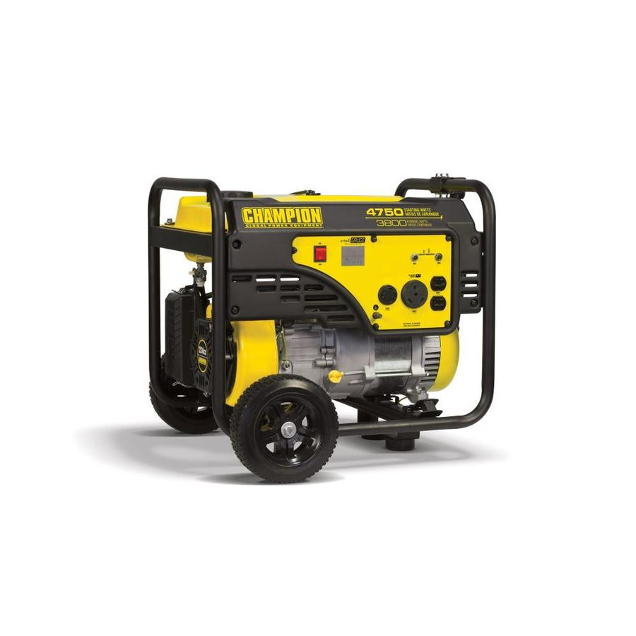 Champion Power Equipment 3800-Running-Watt Portable Generator with Engine