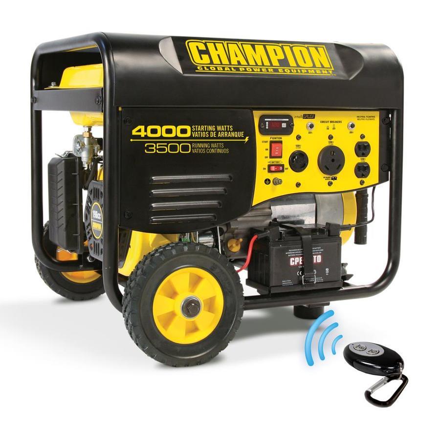 Champion Power Equipment 3500-Running-Watt Portable Generator with Champion Engine