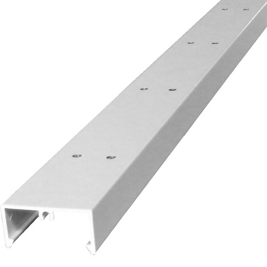Shop Wolf Handrail Bottom rail extrusion White Aluminum Deck ...