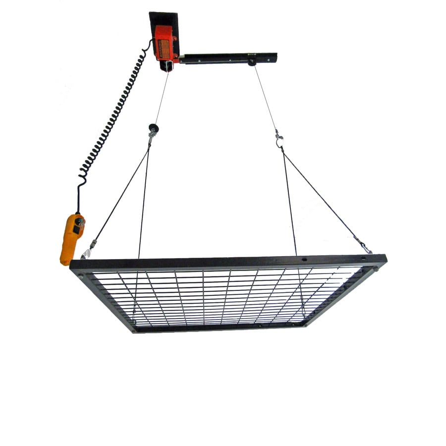Shop garage gator in w d orange steel overhead