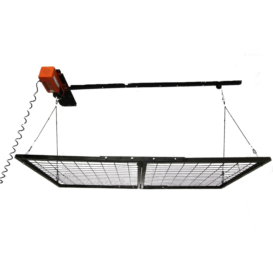 Garage Gator 108 In W X 30.5 In D Orange Steel Overhead Garage Storage