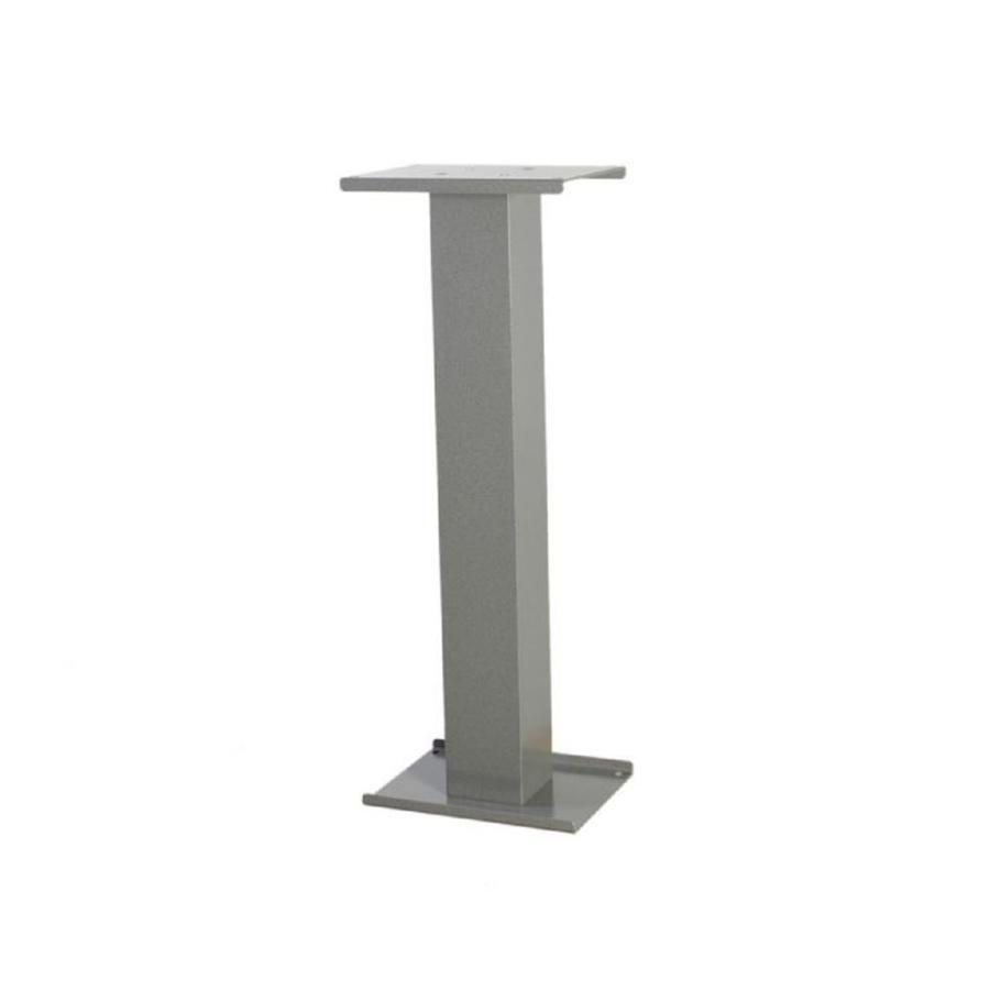 dVault Gray Aluminum Mailbox Post