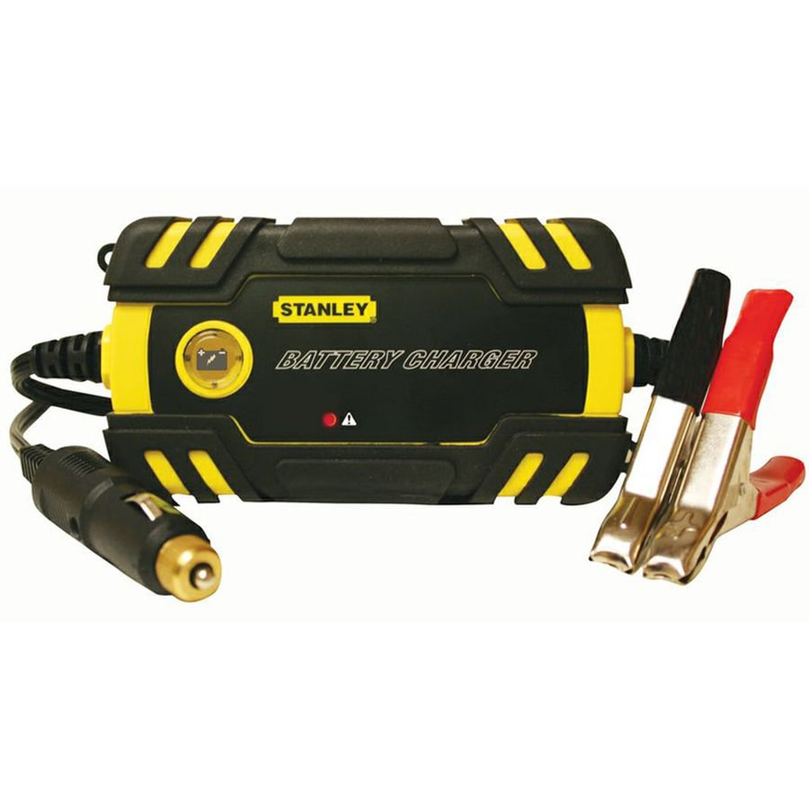Stanley High-Frequency Battery Charger/Maintainer