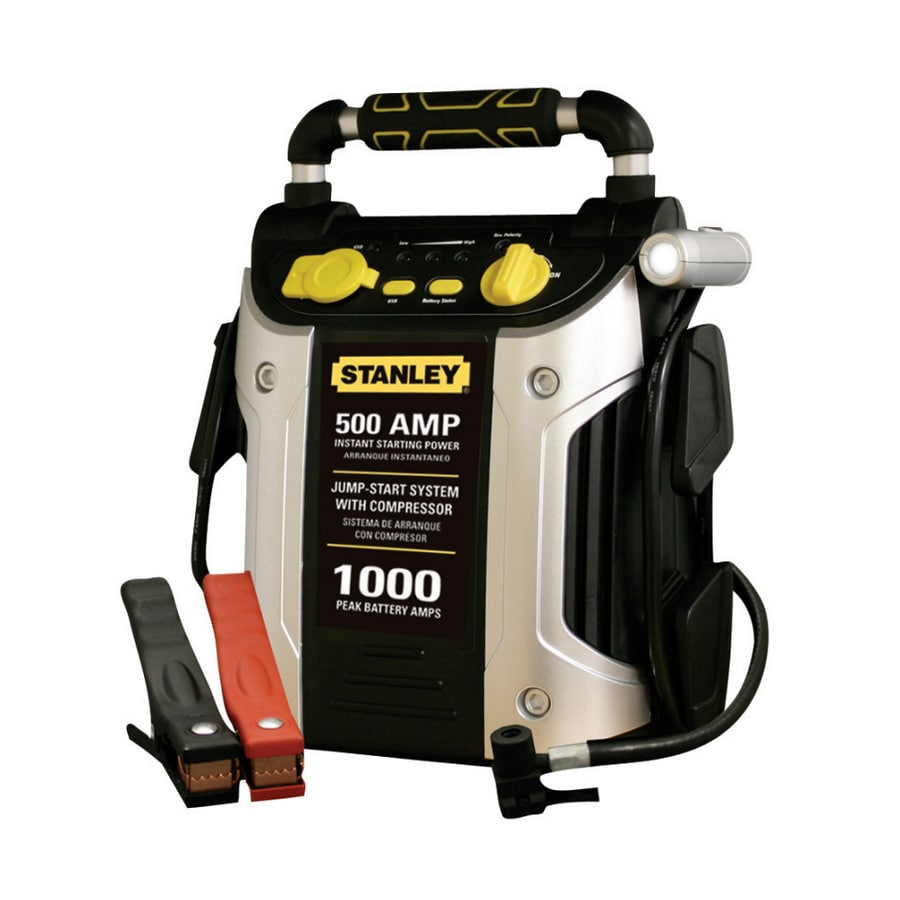 Stanley 500-Amp Car Battery Jump Starter