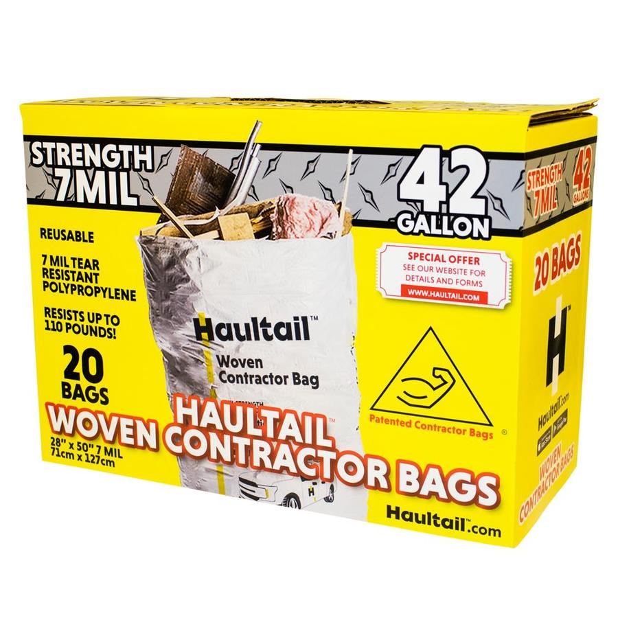 Haultail Woven Contractor Bag 20 Pack