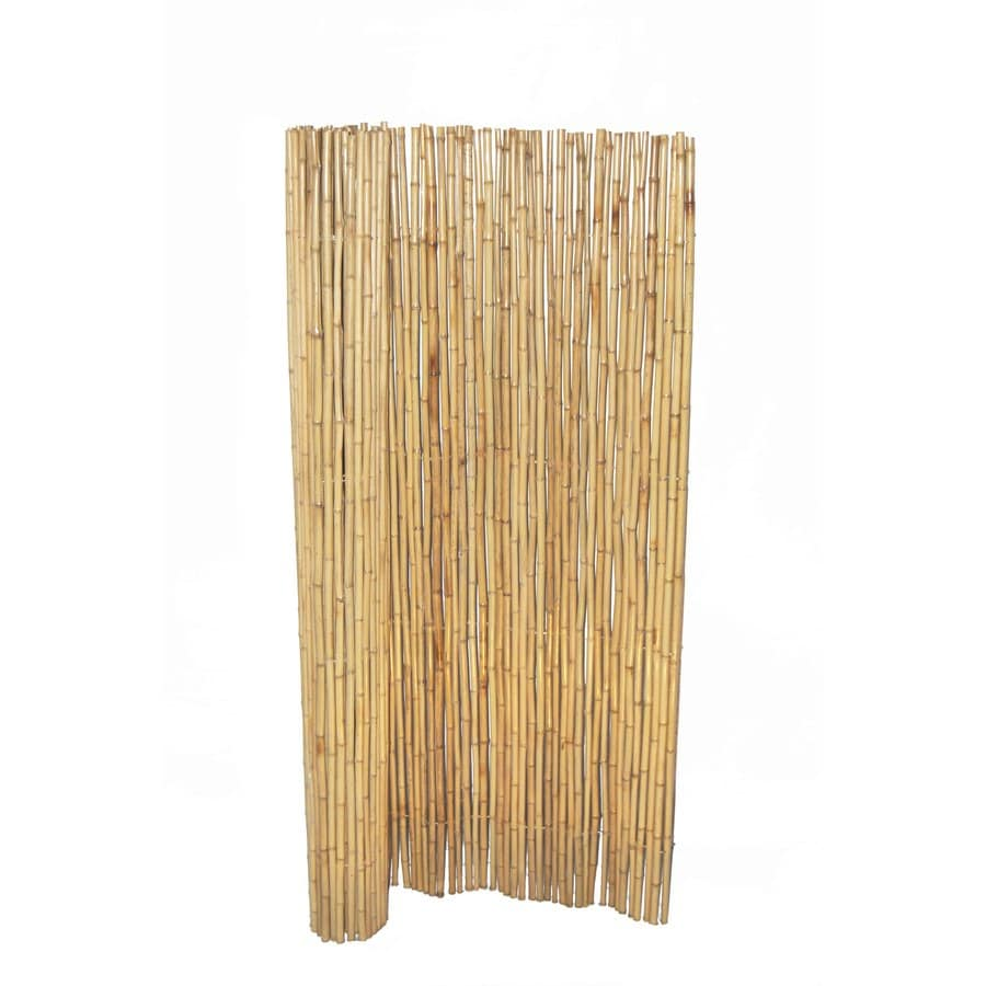 Bamboo Buddy 6 Ft X 8 Yellow Outdoor Privacy Screen